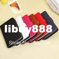 For Samsung Metal Case Lichee Pattern Wallet Leather Case For Samsung Galaxy Mega 6.3 i9200