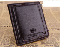 1PCS Coffee Leather Wallet Outside ID Credit Card Holder #24...