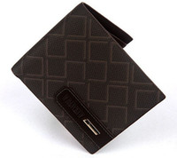 1PCS Mens Coffee Casual Leather Wallet Purse Billfold #24065
