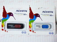 Wholesale Free Ship ADATA C008 USB flash Drive GB memory stick Pen drive Disk thumbdrive pendrives