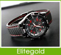 Sport Men's Quartz-Battery GT fashion Men Sport Watch New Military Watches Japen PC Movement Wristwatch black hand clock, 200pcs lot