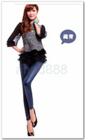 Cheap lady leather leggings Best women pants