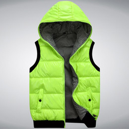 Wholesale 2013 new winter men s vest cotton vest Korean men s fashion casual hooded waist Winter Vest