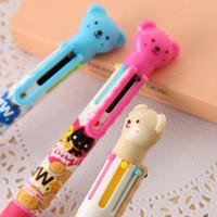 Wholesale Multi color ballpoint pen Cute nice color pen Cartoon ballpoint pen school pen
