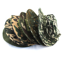 Unisex camouflage wholesale - muntaineering camouflage bonnie hats outdoor sports hats for men and women