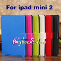 7.9'' pocket books - ipad mini Book Style Retro Stand Folio PU Leather Case Cover With Card Slots Pouch Money Pocket For iPad Mini2 mini