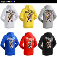 Wholesale H0002 Fiona Fashion Red Blue Black Women Men Hoodies Designer Autumn Sweatshirts Printing League Of Legends Cosplay Party Clothes