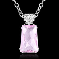 free shipping Valentine's day gift Fashion pink crystal ston...