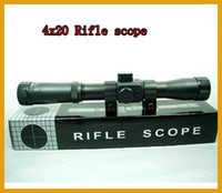 Wholesale Tactical Hunting scope Riflescope x20 Optical Sight with Free Rail Mounts New Outdoor