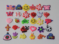 Charms   500pcs lot Mixed girl Assortment Charms for Rainbow Loom Bracelets small pendant styles mixed