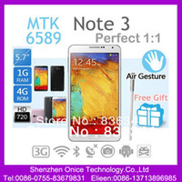 "5.7 Android 1G Singapore Post Star N9000 Note 3 MTK6589T Quad Core phone 5.7"" INCH 6589t 1920x1080 3G android unlocked note3 phonefree shipping"