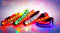 100pcs Fedex free, 6 colors 4 size Leopard LED Zebra dog coll...