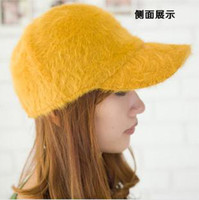 Wholesale Fashion Winter Caps For Women Backpack Style Sunday Angora Yarns Mix Colors New Arrvial C8