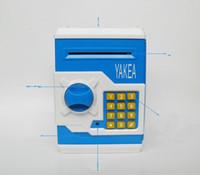 Wholesale Novelty Lockbox piggy bank ATM Teller Machine queen creative safety bank