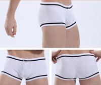 Cotton Boxers Sexy Shorts Men Boxers Sexy Mens Cotton Boxer Brief Underwear Low Rise Underpants Pouch Trunks Briefs For Men Shorts Panties YF3726