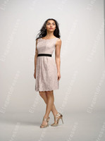 mio - Big Discount A lien Sleeveless Lace Short Bridesmaid Dresses Formal Dresses For Weddding Mio