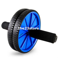 Wholesale sport wheel Abdomen drawing wheel ab wheel abdominal wheel roller fitness weight loss