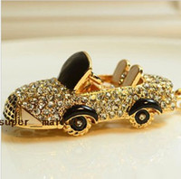 Wholesale Factory Supply Rhinestones Keychains Creative Gift Different Style Car Keychain Fedex