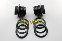 Wholesale Brand New Black Vented Screw in Fuel Tank Gas Cap For Harley Davidson black