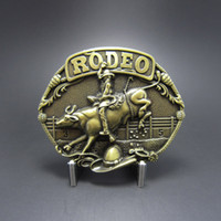 Buckles antique western - Retail Belt Buckle Antique Bronze Plated Bull Rodeo Western Cowboy Belt Buckle BUCKLE WT085AB