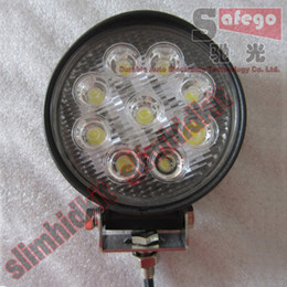 Wholesale 1pcs W Round Square quot inch Spot Flood Lamp Tank Boat Tractor Truck Trailer SUV JEEP X4 WD LED Offroad work working light