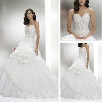 Trumpet/Mermaid Reference Images Chiffon WD01233 Grecian Style Long Train Wedding Dresses