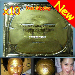 Wholesale Brand New Gold Crystal Collagen Facial Mask Face Masks