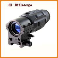 Rifle Scopes sniper scope - Tactical Hunting X Magnifier Gun Rifle Scope Twist Mount Module Sniper Sight for mm Rail