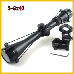 Wholesale Pro Hunting x40 Mil Dot Air Rifle Gun Outdoor Optics Sniper Deer Scope mm Rail Mounts