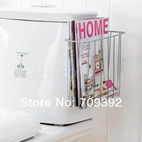 Wholesale Bathroom Toilet Mount Book Magazine Holder Stuff Storage Organiser Rack Shelf