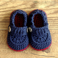 Unisex Spring / Autumn Cotton 5%off Two buckle, boys crochet shoes! Blue knitted baby shoes! Cheap shoes wholesale! Baby Clothes! Shoe shop! 6pairs 12pcs