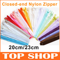 Wholesale Nylon Zipper Closed end Sewing inch Multicolor Zipper Sewing Zip cm apparel Zipper FZ0007