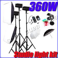 Wholesale GODOX ws w Pro Studio Strobe Photo Flash Light Softbox Lighting kit