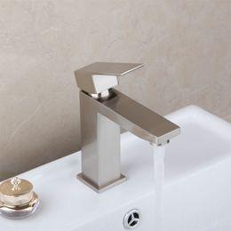 Wholesale Hot Sale Brushed Nickel Bathroom Mixer Tap Faucet