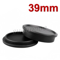 Wholesale black metal Rear Lens Body Cap Cover Screw Mount for Leica M39
