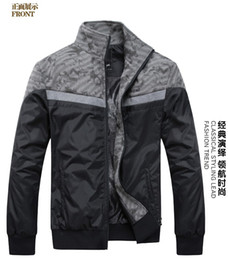 Wholesale New Trend Men s Jacket Outwear Spring Autumn Thick Section Cardigan Fashion Stand Collar Sports Jackets