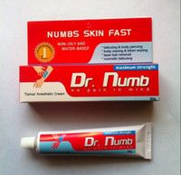 tattoo numb Dr  Top Tattoo Numb Painless Tattoos Cream 30g Dr Anesthetic 50 tubes For Tattoo Piercing Makeup Tattoo kits free shipping by EMS