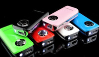 Wholesale 5600mah Portable Emergency Power bank External Battery with LED light for Iphone s c Samsung S3 S4 Note Mp3 Mp4