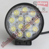 atvs trailers - 2pcs V V car Bus Motorcycle Atvs Tank Tractor Truck Trailer SUV WD JEEP vehicle W Led Off road work driving fog lights