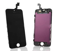 For Apple iPhone   100% Full Original For iphone 5S LCD Display With Touch Screen Frame Digitizer Assembly Replacement