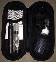 Single Electronic Cigarette Set Series Cheap Ego CE4 Starter Kit Kits CE4 Atomizer Ego-T 1100mah battery travel Case Cases Packing e Cig cigs Electronic Cigarette Cigatettes