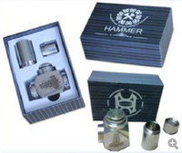 Cheap Hammer Epipe Mod E Cigarette E Pipe Mod Mechanical Stainless Steel E-pipe DHL free Electronical Cigarette Kits