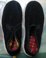 Wholesale handmade shoes RARE Chinese Melaleuca cloth Fabric shoes Qian Ceng di Bu Xie good for antique collection