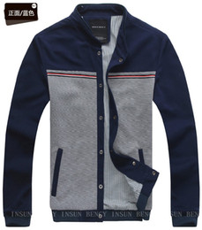Wholesale New Men s Stand Collar Fashion Trend Jackets Autumn Coat Washed Casual Jackets