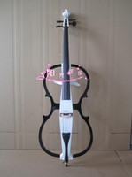 Wholesale New Electric Cello Silent Powerful Sound Ebony Part Solid wood