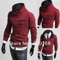 Wholesale Fashion Autumn winter New Korean men s sweater Long sleeve jackets and coats male models men clothes Hot Sale