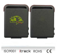 Wholesale Long Life GPS Tracker GPS Tracker by SIM Card tk102 Tracking Security Via Contact Phone Number GPS Tracker