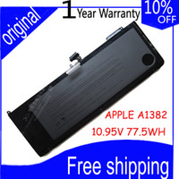 "Cheap [Special Price] New Original Laptop Battery For Apple MacBook Pro 15"" A1286 (2009 Version), MB985 MB986 Series MC723 A1382,Free shipping"