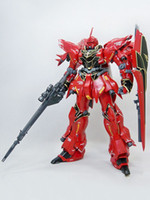 Wholesale Gundam UC Full Frontal Sinanju Ver Ka Anime Modal Kit r58 u7 DGG