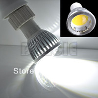 Wholesale New W GU10 High Power COB LED Spot SMD White Light Bulb Lamp V V